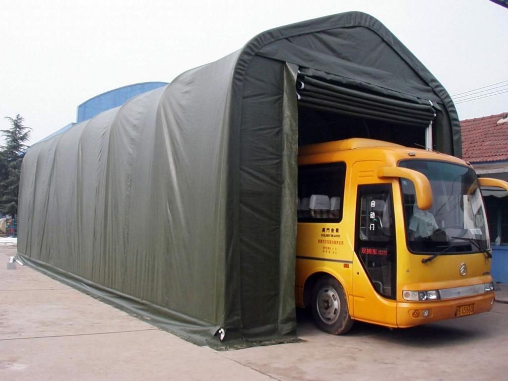 montované plachtové haly