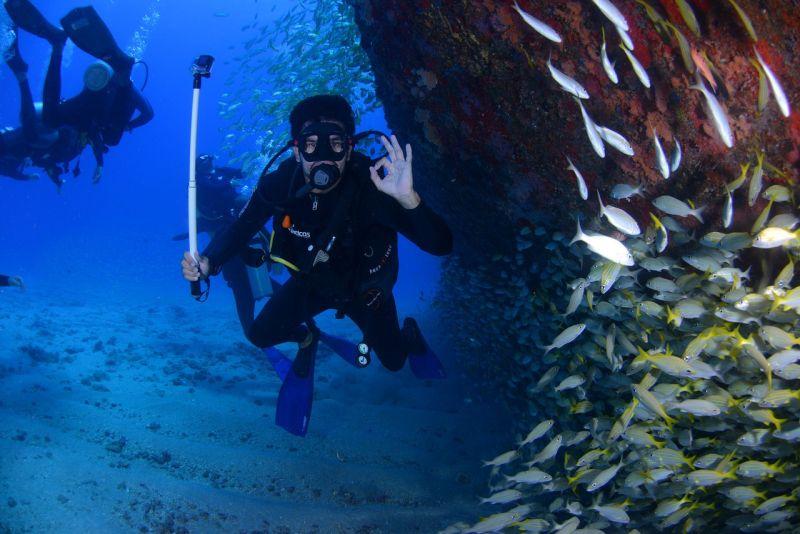 připojištění pro potápění do 40 m hloubky