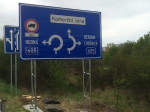 dopravní značení Praha
