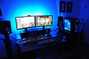 herní stolní počítač